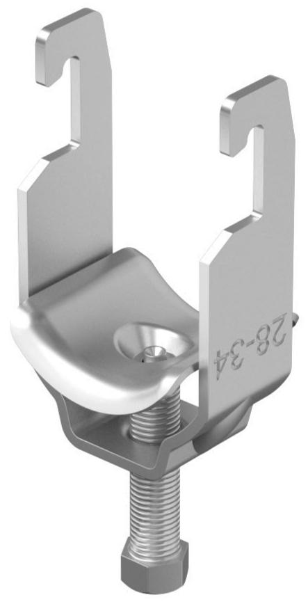 KV4A/ 8-12/AC Kabelschelle V4A
