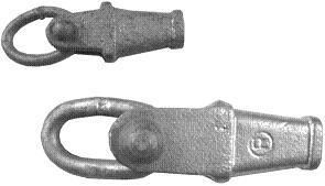 Setra-Tragklemme klein m.Ring