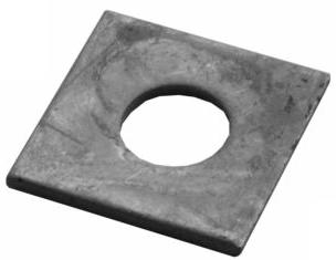 Vierkantscheibe M20 fz