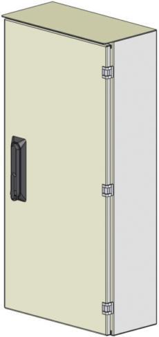 A3-H-Al/b-S/IP54 Leerschrank