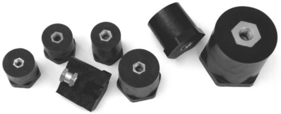 NS6616-SK Isolator schwarz