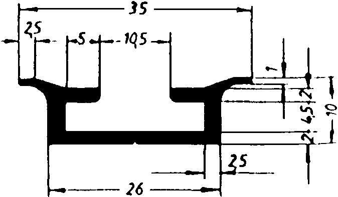 CTS 35/10-Al, ungelocht