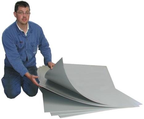 PVC-T2, 1000x2000x2mm