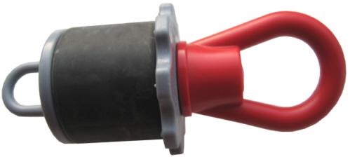 Rohrstopfen mit Öse DN40mm