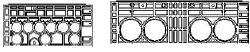 EK 368 Rahmen, H: 220mm
