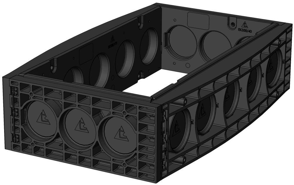 EK 378 Rahmen, H: 220mm