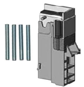 Höhenausgleichssatz -50mm für