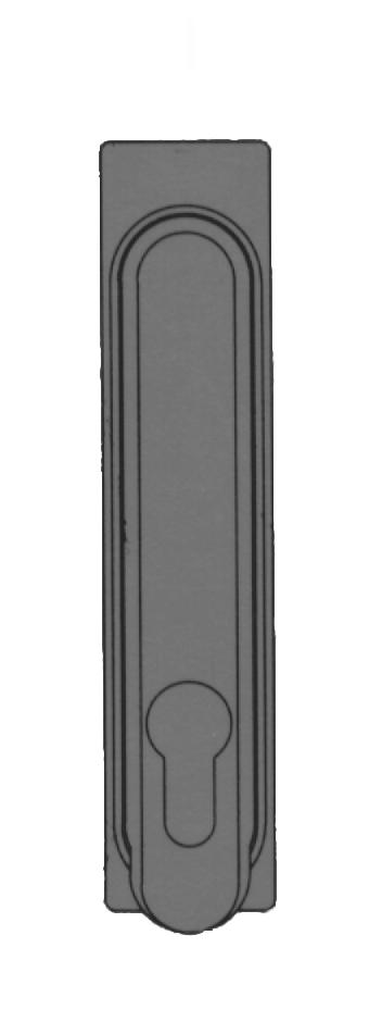 Kabeleinführungsbürste B=150mm